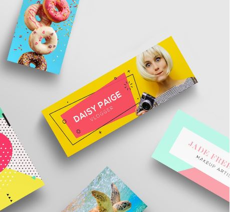 Mini Printed Business Cards